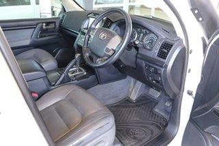 2011 Toyota Landcruiser VDJ200R MY10 Altitude White 6 Speed Sports Automatic Wagon