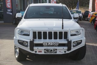 2014 Jeep Grand Cherokee WK MY2014 Laredo White 8 Speed Sports Automatic Wagon.