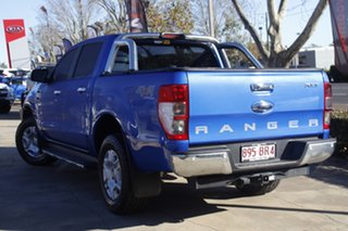2017 Ford Ranger PX MkII 2018.00MY XLT Double Cab Blue 6 Speed Sports Automatic Utility