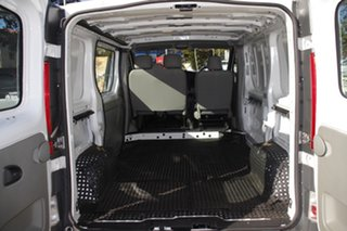 2014 Renault Trafic X83 Phase 3 Low Roof Quickshift White 6 Speed Seq Manual Auto-Clutch Van
