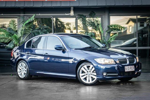 Used BMW 3 Series E90 MY10 320d Steptronic Executive Bowen Hills, 2010 BMW 3 Series E90 MY10 320d Steptronic Executive Blue 6 Speed Sports Automatic Sedan