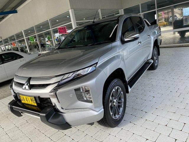 Used Mitsubishi Triton Taree, 2019 Mitsubishi Triton GLS - Premium Silver Sports Automatic Dual Cab Utility