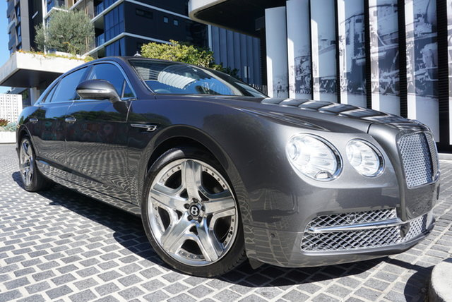 Used Bentley Flying Spur 3W East Brisbane, 2013 Bentley Flying Spur 3W No Badge Anthracite Grey 8 Speed Sports Automatic Sedan