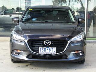 2016 Mazda 3 BN5438 SP25 SKYACTIV-Drive GT Grey 6 Speed Sports Automatic Hatchback.
