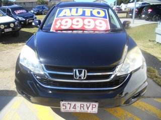 2011 Honda CR-V RE MY2011 Luxury 4WD Black 5 Speed Automatic Wagon.