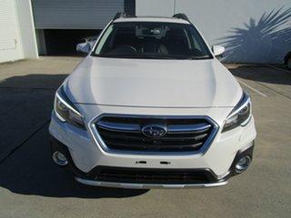 2018 Subaru Outback B6A MY18 2.5i CVT AWD Premium White 7 Speed Constant Variable Wagon.