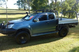 2015 Isuzu D-MAX MY15 SX Space Cab Grey 5 Speed Manual Cab Chassis.