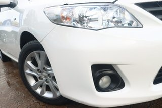 2013 Toyota Corolla ZRE152R MY11 Ascent Sport White 4 Speed Automatic Sedan.