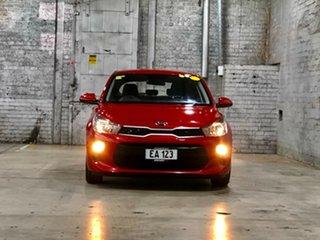 2018 Kia Rio YB MY18 S Red 4 Speed Sports Automatic Hatchback.