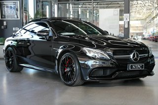 2017 Mercedes-Benz C-Class C205 808MY C63 AMG SPEEDSHIFT MCT S Black 7 Speed Sports Automatic Coupe