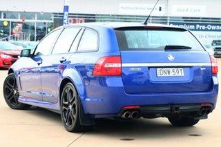 2017 Holden Commodore VF II MY17 SS V Sportwagon Redline Slipstream Blue 6 Speed Sports Automatic.