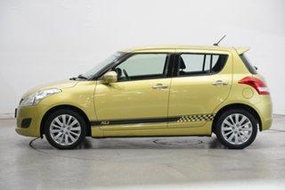 2013 Suzuki Swift FZ RE2 Green 4 Speed Automatic Hatchback.