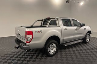 2017 Ford Ranger PX MkII XLT Double Cab Silver 6 speed Automatic Utility