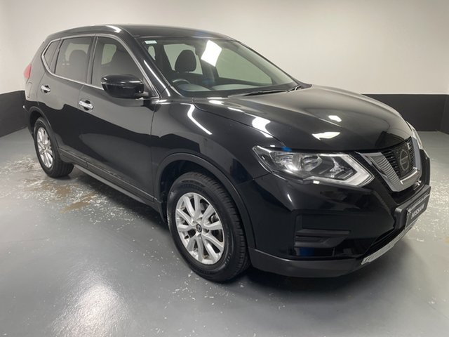 Used Nissan X-Trail T32 Series II ST X-tronic 2WD Hamilton, 2018 Nissan X-Trail T32 Series II ST X-tronic 2WD Diamond Black 7 Speed Constant Variable Wagon