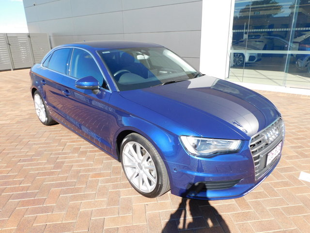 Used Audi A3 8V MY16 Attraction S Tronic Toowoomba, 2016 Audi A3 8V MY16 Attraction S Tronic Scuba Blue Lx5q 7 Speed Sports Automatic Dual Clutch Sedan