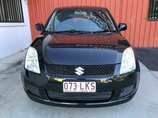 2009 Suzuki Swift RS415 GLX Black 5 Speed Manual Hatchback.