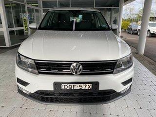 2017 Volkswagen Tiguan 110TDI - Comfortline Pure White Sports Automatic Dual Clutch Wagon.