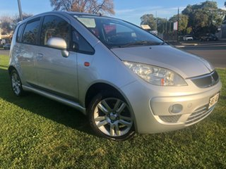 2009 Mitsubishi Colt RG MY09 VR-X Silver 1 Speed Constant Variable Hatchback.