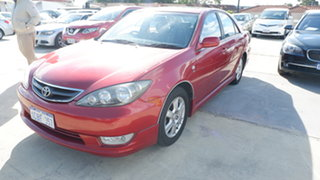 2004 Toyota Camry MCV36R Azura Red 4 Speed Automatic Sedan.