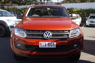 2015 Volkswagen Amarok 2H MY15 TDI420 4MOTION Perm Canyon Orange 8 Speed Automatic Utility.