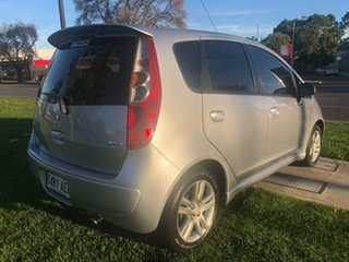 2009 Mitsubishi Colt RG MY09 VR-X Silver 1 Speed Constant Variable Hatchback
