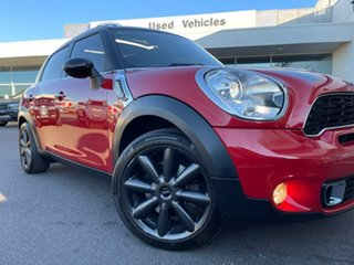 2013 Mini Countryman R60 Cooper S Red 6 Speed Sports Automatic Wagon.
