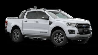 2021 Ford Ranger PX MkIII Wildtrak Arctic White 6 Speed Automatic Pick Up.