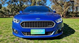 2015 Ford Falcon FG X XR6 Blue 6 Speed Manual Sedan.