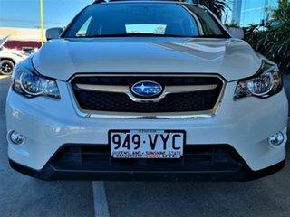 2015 Subaru XV White Hatchback.