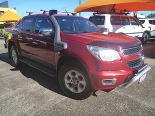 2012 Holden Colorado RG MY13 LTZ Crew Cab Red 6 Speed Sports Automatic Utility.