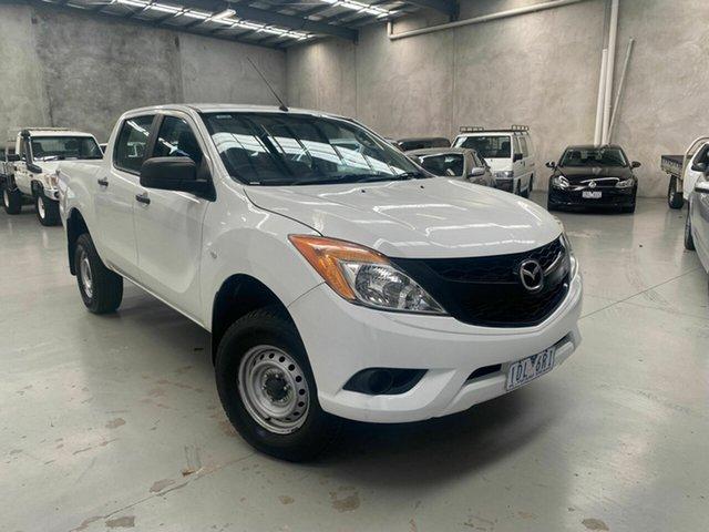 Used Mazda BT-50 UP0YF1 XT 4x2 Hi-Rider Coburg North, 2013 Mazda BT-50 UP0YF1 XT 4x2 Hi-Rider White 6 Speed Sports Automatic Utility