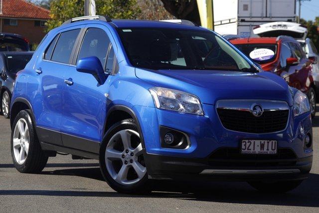 Used Holden Trax TJ MY16 LTZ Toowoomba, 2016 Holden Trax TJ MY16 LTZ Blue 6 Speed Automatic Wagon