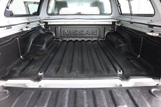 2013 Nissan Navara D40 MY12 ST (4x4) Silver 5 Speed Automatic Dual Cab Pick-up