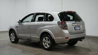 2013 Holden Captiva CG Series II MY12 7 SX Silver 6 Speed Sports Automatic Wagon.