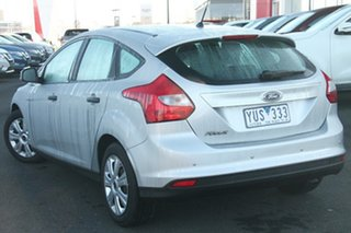 2012 Ford Focus LW Ambiente PwrShift Silver, Chrome 6 Speed Sports Automatic Dual Clutch Hatchback.