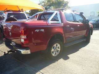 2012 Holden Colorado RG MY13 LTZ Crew Cab Red 6 Speed Sports Automatic Utility
