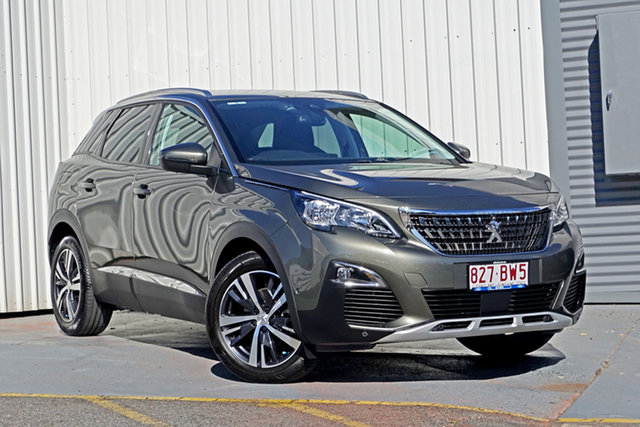 Used Peugeot 3008 P84 MY19 Allure SUV Springwood, 2019 Peugeot 3008 P84 MY19 Allure SUV Grey 6 Speed Sports Automatic Hatchback