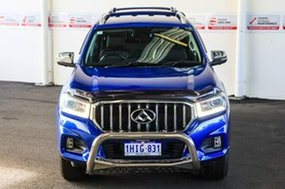 2018 LDV T60 SKC8 Luxe (4x4) Blue 6 Speed Direct Shift Double Cab Utility
