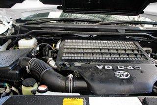 2015 Toyota Landcruiser VDJ200R MY13 VX (4x4) Glacier White 6 Speed Automatic Wagon