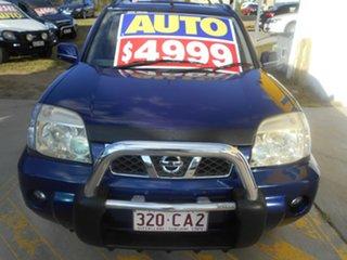 2005 Nissan X-Trail T30 II TI Blue 4 Speed Automatic Wagon.