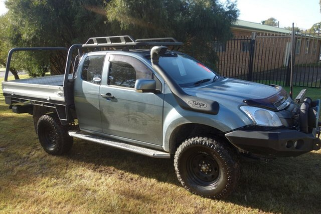 Used Isuzu D-MAX MY15 SX Space Cab East Maitland, 2015 Isuzu D-MAX MY15 SX Space Cab Grey 5 Speed Manual Cab Chassis