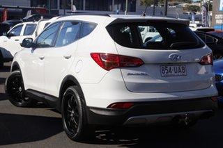 2014 Hyundai Santa Fe DM2 MY15 Active White 6 Speed Sports Automatic Wagon.