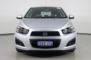 2012 Holden Barina TM Silver 6 Speed Automatic Hatchback.