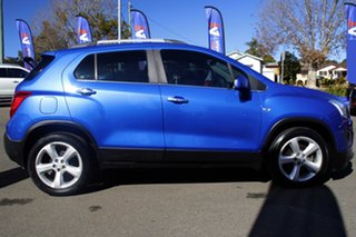 2016 Holden Trax TJ MY16 LTZ Blue 6 Speed Automatic Wagon.