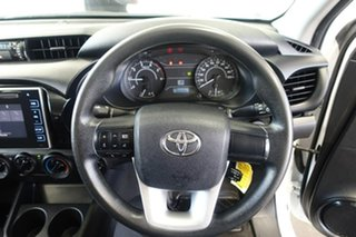 2017 Toyota Hilux GUN125R Workmate (4x4) Glacier White 6 Speed Automatic Dual Cab Utility