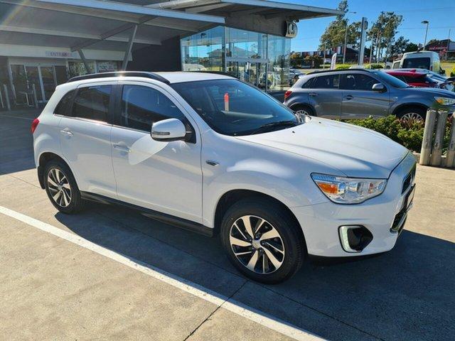 Used Mitsubishi ASX XB MY15 LS 2WD Yamanto, 2014 Mitsubishi ASX XB MY15 LS 2WD White 5 Speed Manual Wagon