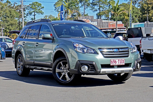 Used Subaru Outback B5A MY14 2.5i Lineartronic AWD Chandler, 2014 Subaru Outback B5A MY14 2.5i Lineartronic AWD Desert Khaki 6 Speed Constant Variable Wagon