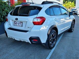 2015 Subaru XV White Hatchback