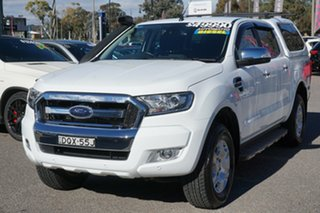 2017 Ford Ranger PX MkII XLT Double Cab White 6 Speed Sports Automatic Utility