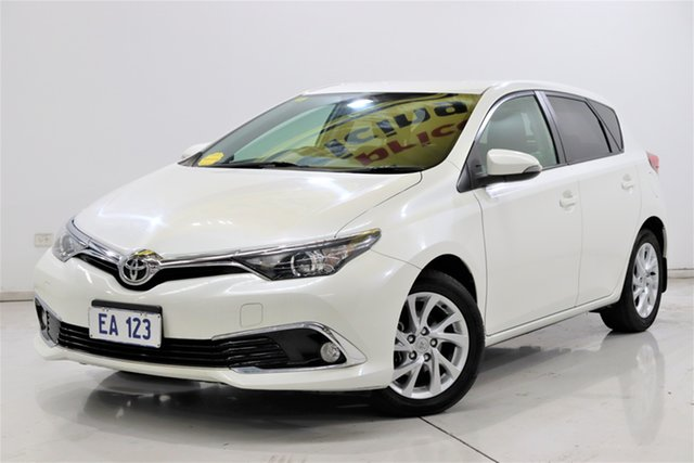 Used Toyota Corolla ZRE182R Ascent Sport S-CVT Brooklyn, 2017 Toyota Corolla ZRE182R Ascent Sport S-CVT White 7 Speed Constant Variable Hatchback